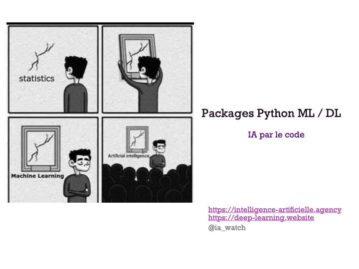Meetup - Packages Python - IA par le Code